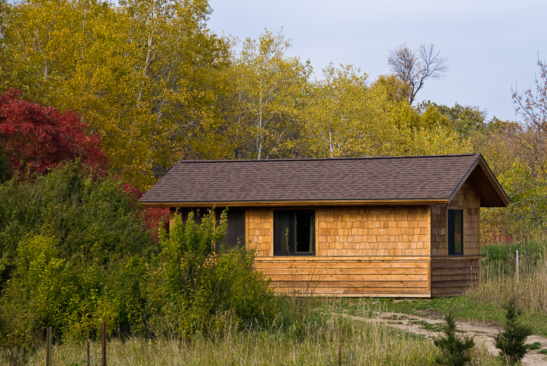 Cabin In Sibley State Park   Photo By Greg Harp